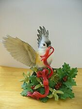 """Lenox - """"1999 Christmas Tufted Titmouse"""" (Limited Edition) Figurine - Excellent"""