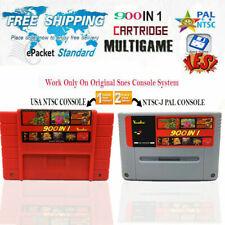 ✅ 900 en 1 Multi Cartucho Retro Juego SNES PAL NTSC Consola 2019 EarthBound