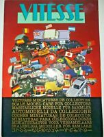 Vitesse Die Cast Model Car Collectors Catalogue 1988 Miniatures Ferrari, Etc.