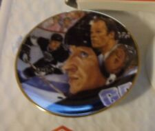 WAYNE GRETZKY THE GREAT ONE GORDIE HOWE GARTLAN MINI PLATE 3 INCH NHL HOCKEY