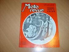 Moto revue N° 1901 Salon de Paris.