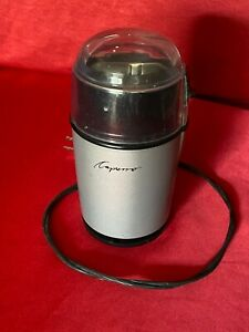 Capresso Cool Grind Spice & Coffee Grinder Model 501 Gray 100w