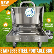 Euro-Grand BBQ Portable Boat Gas Barbeque Stainless Steel Caravan Free Standing