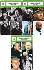 FICHE CINEMA x3 : DONALD PLEASENCE DE 1954 A 1995 -  Grande-Bretagne (Bio/Filmo)