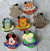 Crest Collection 2012 Hidden Mickey Series Set DLR Choose a Disney Pin