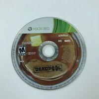Deadpool (Microsoft Xbox 360, 2013) Game Disc Only