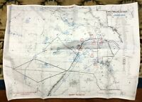 1991 Gulf War Map Operation Desert Storm Iraq Kuwait Original Military Issue