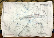 1991 Gulf War Map Military Campaign Army Operation Dessert Storm Iraq Kuwait