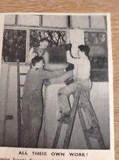 Ephemera 1954 Picture Boy Scouts 2/31st Kensington Group London b1p