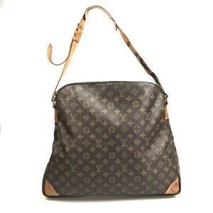 100% authentic Louis Vuitton Monogram sack ballad M51112 bag used 1596-3bT15