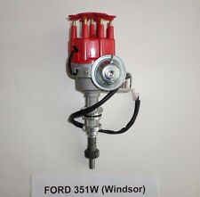 SMALL BLOCK FORD 351W Windsor RED Small HEI Distributor-Ready to Run-electronic