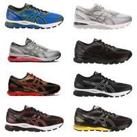 Men's Asics GEL-Nimbus 21 Running Athletic Shoes Black/Red/Lemon