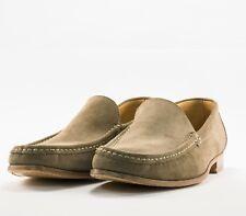 Pal Zileri Beige Suede Loafers Size 10 US/43 UK MSRP $595