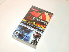 METAL GEAR SOLID PORTABLE OPS + CODED ARMS new factory sealed Sony PSP game