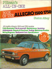 Austin Allegro 1500/1750 Pitman's All in One Owners Handbook inc. Vanden Plas