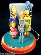 "The Simpsons ""Picture Perfect"" Collectible Christmas Ornament, Bradford Editions"