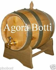 Botte di Castagno da 5 litri con rubinetto di ottone, OFFERTA!!!