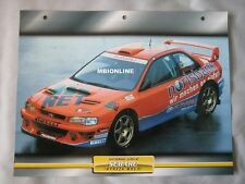 Subaru Impreza WRC 97 Dream Cars Card