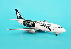Aviation200 Air New Zealand Boeing 737-200 1:200 Scale All Blacks Rugby Diecast