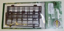 Ratio 217 Wooden Lineside Fencing (Plastic Kit) N Gauge Railway Model