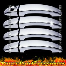 For FORD Escape 2013 2014 Chrome 4 Door Handle Covers w/o PK Chromed Doors Cover