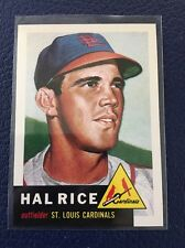 HAL RICE CARDINALS  1953 TOPPS ARCHIVES #93  NM-MT+
