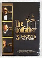 The Godfather Trilogy 3 Movie Collection Cinematic Storytelling Disc DVD Set