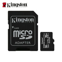 Kingston 16 Go MicroSD SDHC Carte Mémoire Class10 UHS-I TF Card SDCS2/16GB