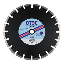 OTEC D20T Standard Asphalt / Tarmac Cutting Diamond Blade 300mm dia / 20mm