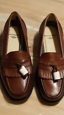 Dockers Strategy Brown Loafers Shoes Leather Tassel Size 8.5 M