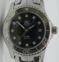 Tag Heuer Link WJ1318 Quartz Diamond Dial Stainless Steel Ladies watch 27mm