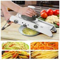 Mandoline Slicer Manual Vegetable Cutter Professional Grater + Adjustable Blades