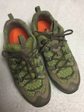 Merrell Women's Green Gray Leather Lace Up Athletic Shoes Size Sz 36 U.S. 6