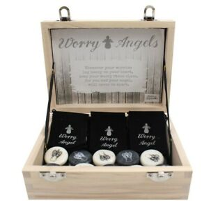 Guardian Angel Worry Stone - choice of colours
