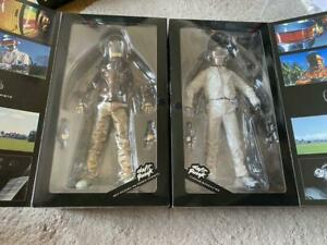 Daft Punk Discovery V.2.0 Real Action Heroes Figure Medicom Toy Set of 2 NEW JAP