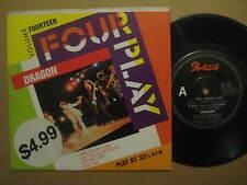 """DRAGON Four Play RARE AUSSIE 4 TRACK 7"""" EP 1988 - 651088 7"""