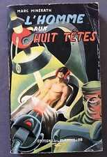 ►EDITION DE LA FLAMME D'OR 14/1953 - HOMME AUX 8 TETES - MINERATH - JEF DE WULF