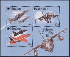 """Gibraltar 2001 """"Wings of Prey""""/Militar Aviones/Avión/Aviación 3v m/s (s85)"""