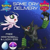 CELEBI + ZARUDE 2-Pack | Pokemon Movie 2020 | 6IV | Pokemon Sword
