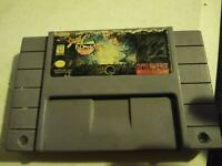 Street Fighter Alpha 2 SNES authentic Game Cartidge Tested/Working Properly