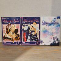 Millenium Snow Volume 1, 2, 3 - Shojo Beat Manga - English Bisco Hatori Comic