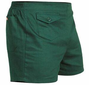 Stubbies Men's Shorts - Green-132L