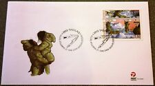 Greenland Post Official FDC 2009.06.21. Cartoons I - Single Stamp