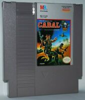 Cabal (1990) Cartridge NES Nintendo Game Authentic Tested Good