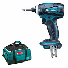 MAKITA 18V LXT DTD146 DTD146Z DTD146RFE IMPACT DRIVER AND 4 PIECE BAG DTD152Z