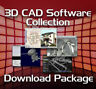 2D 3D CAD - AutoCAD DWG File DOWNLOAD, COMPUTER AIDED SOFTWARE ENGINEERING MODEL