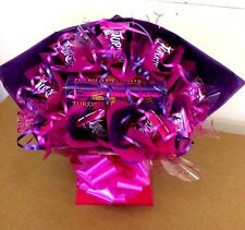 TURKISH DELIGHT GIFT BOUQUET BIRTHDAY FATHERS DAY HAND MADE COLOUR OPTION