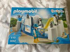 PLAYMOBIL 9062 FAMILY FUN PENGUIN POOL ENCLOSURE PLAYSET **BRAND NEW SEALED**