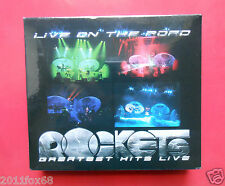 cd cds rockets live on the road greatest hits live 2 cds future woman anastasis