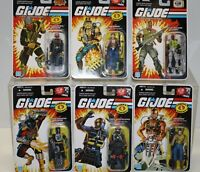 GI JOE ACTION FIGURES 2007-2008 NEW SEALED ON CARD COBRA - AMERICAN HERO